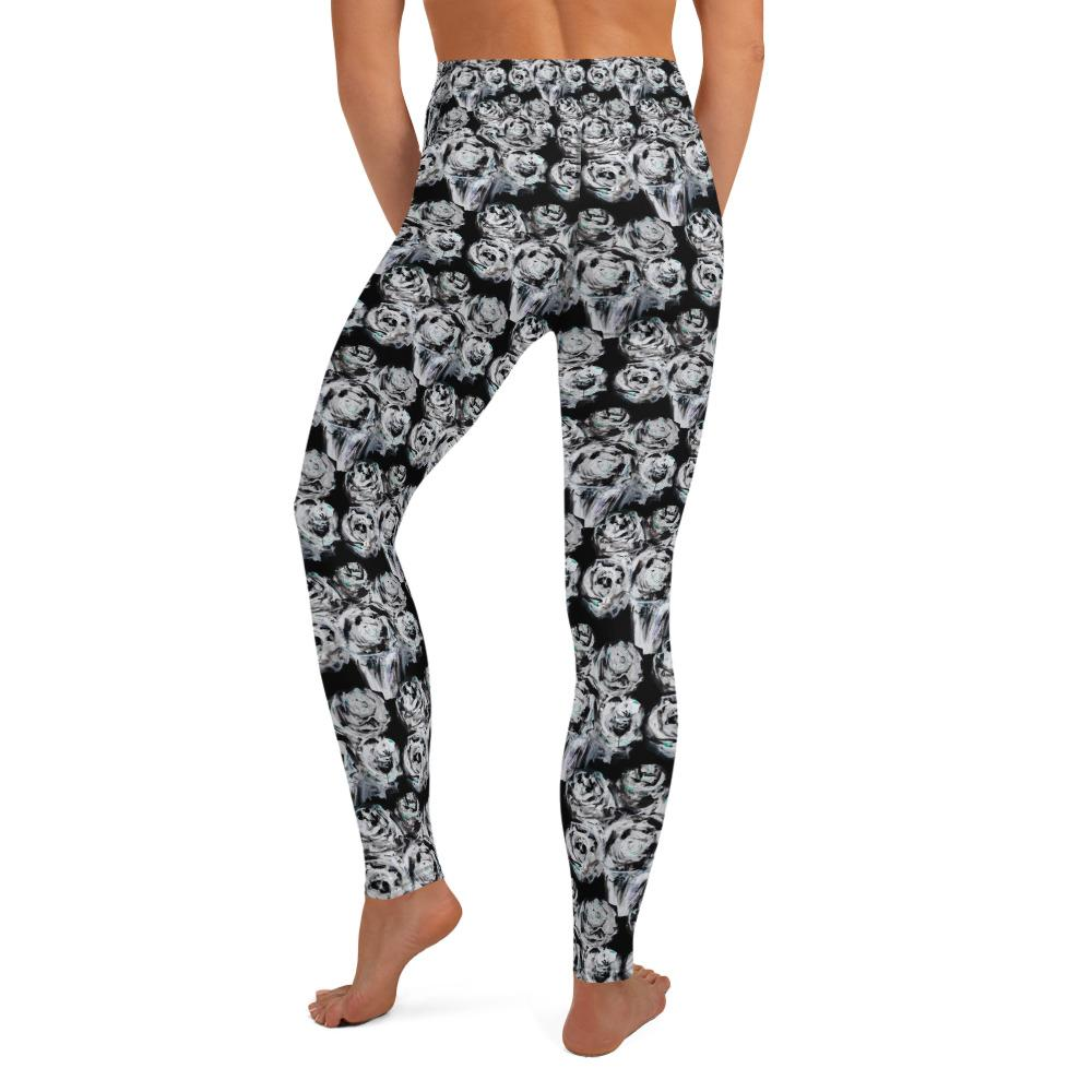 Black Rose Matching Bottoms