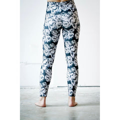 Black Rose Yoga Leggings