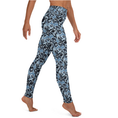 Blue Rose Matching Bottoms