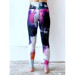 Galaxy Blue Yoga Leggings