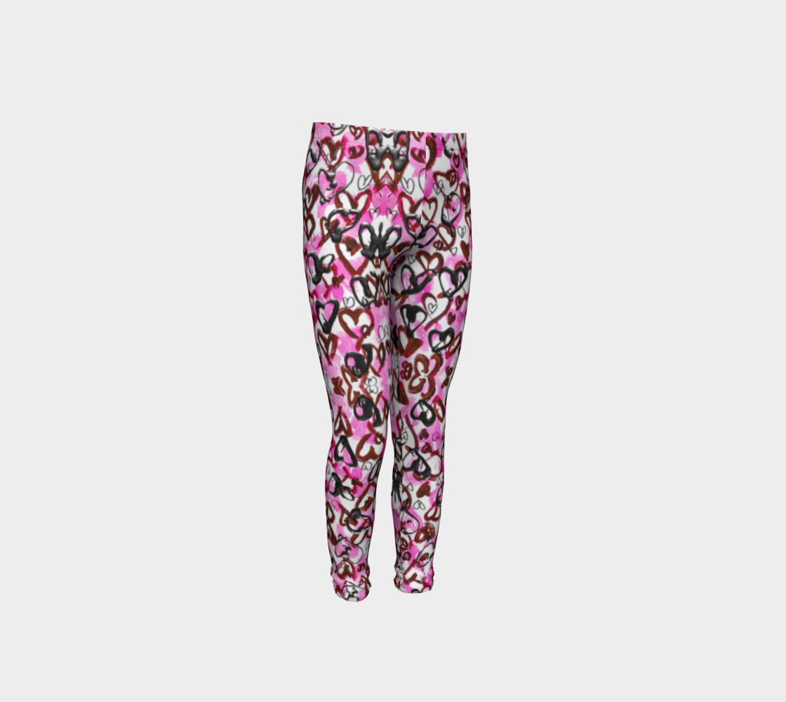 Girls Heart Pants for Breast Cancer