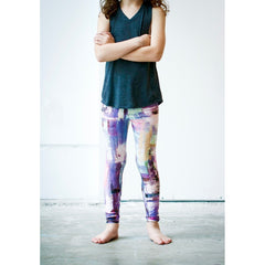 Girls Muted Lilac Pants