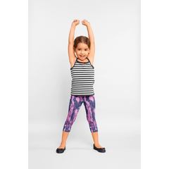 Girls Pink Splash Pants