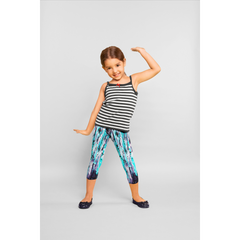 Girls Spearmint Splash Pants