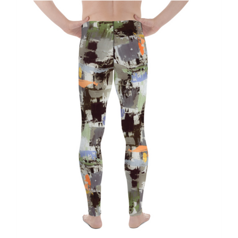 Men's Geometric Cargo Athletic Bottoms