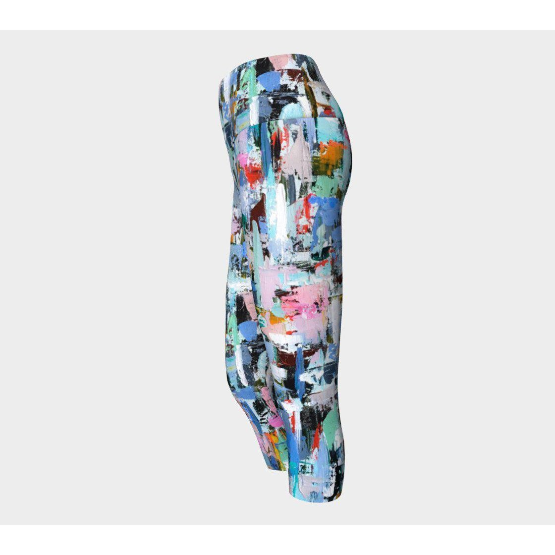 Muted Candy Yoga Capris