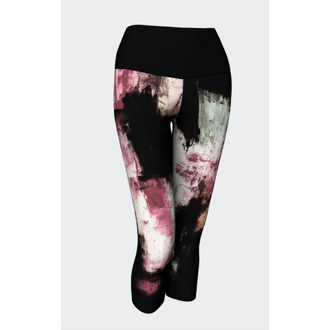Muted Pink Yoga Capris