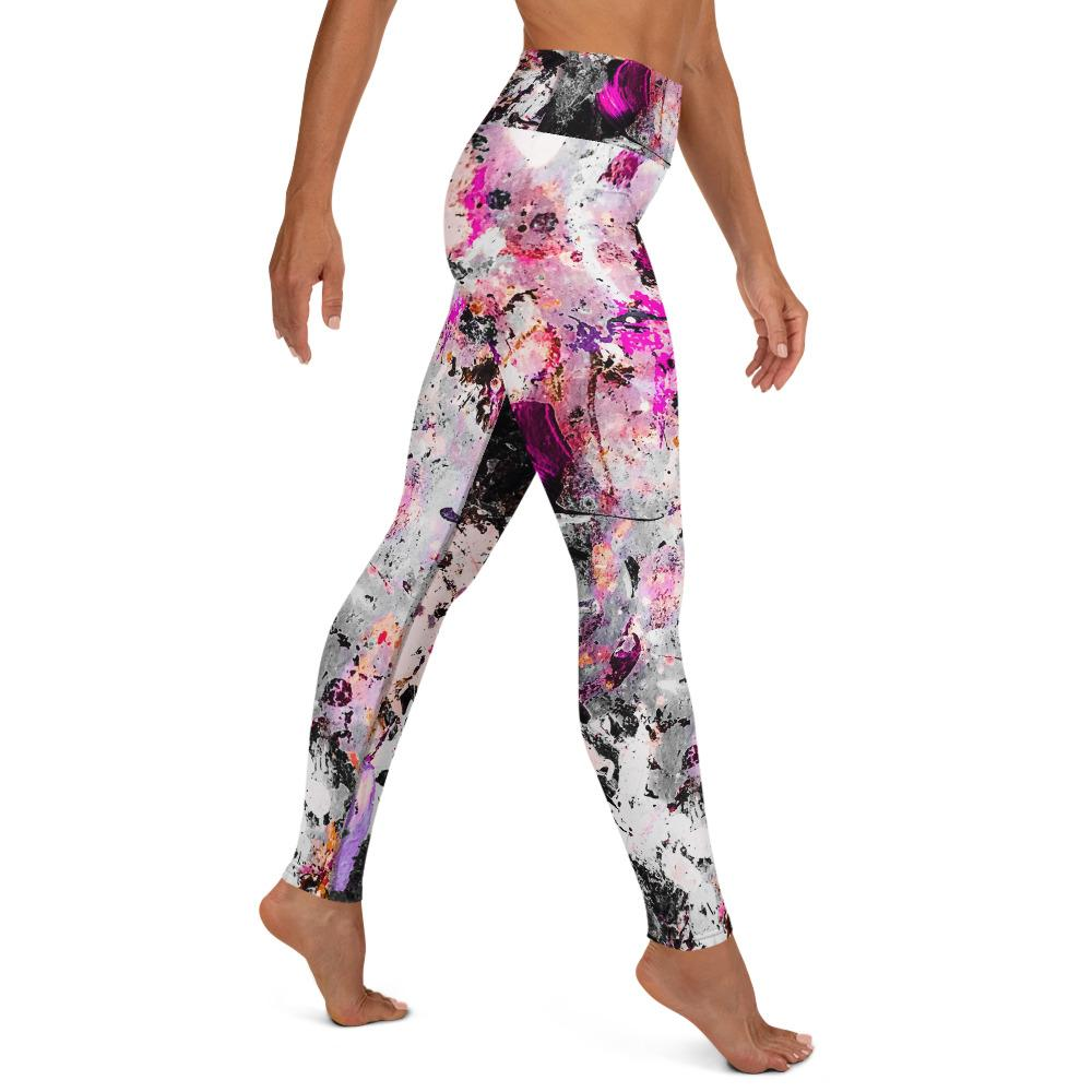 Pink Splatter Matching Bottoms