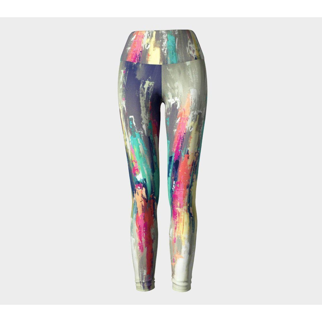Rainbow Gray Yoga Leggings