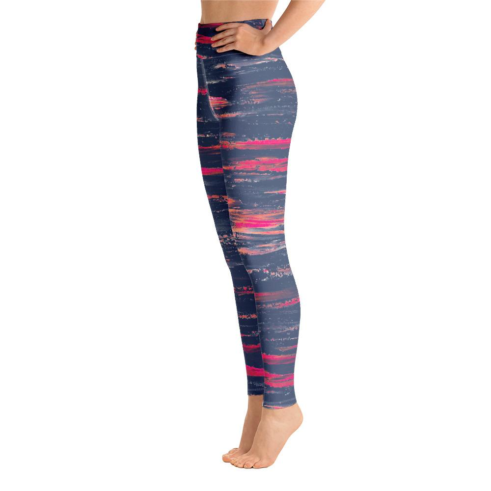 Sunset Horizon Stripe Matching Bottoms