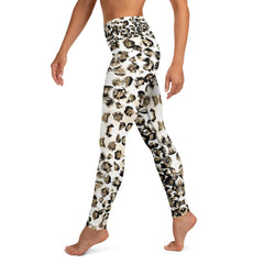 White Leopard Matching Bottoms