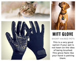Pet Shedding Grooming Gloves (1 pair)