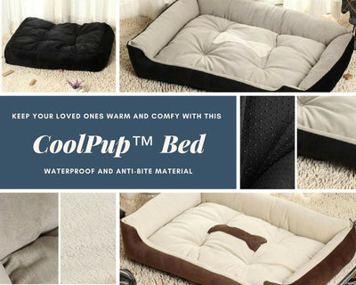 CoolPup™ Warm & Comfortable Pet Bed