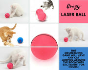 Interactive Laser Cat Ball