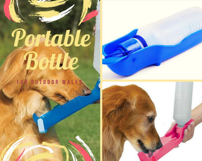 Portable Water Bowl Feeder