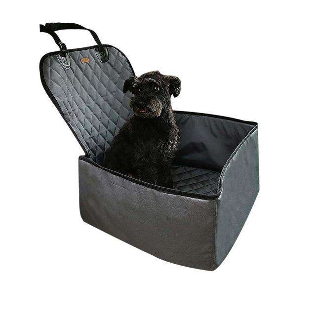 Charlie Buddy - Hand picked products for your dogs and cats-2 in 1 Comfortable Dog Car Seat-Grey