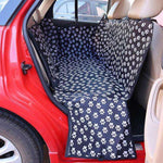 Charlie Buddy - Hand picked products for your dogs and cats-Back Seat Waterproof Foldable Mat-Black and White