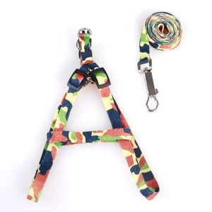 Charlie Buddy - Hand picked products for your dogs and cats-Cat Collar Harness And Leash-New Style Army