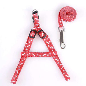 Charlie Buddy - Hand picked products for your dogs and cats-Cat Collar Harness And Leash-New Style Red
