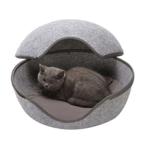 Charlie Buddy - Hand picked products for your dogs and cats-Cat Warm Nest-grey
