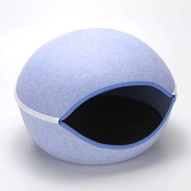 Charlie Buddy - Hand picked products for your dogs and cats-Cat Warm Nest-blue