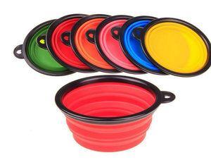 Charlie Buddy - Hand picked products for your dogs and cats-Collapsible Silicone Pet Bowl