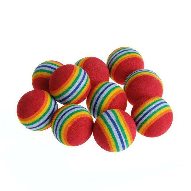 Charlie Buddy - Hand picked products for your dogs and cats-Colorful Cat Toy Balls (10pcs)-Default Title