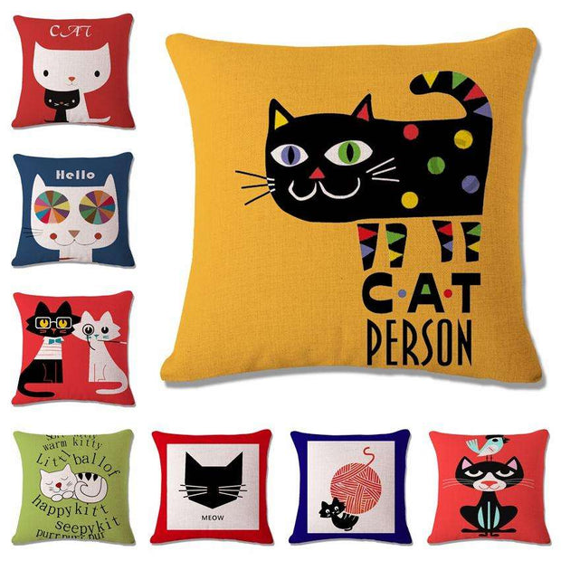 Charlie Buddy - Hand picked products for your dogs and cats-Cool Designs Throw Pillowcase