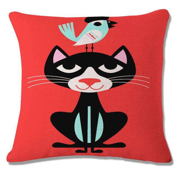 Charlie Buddy - Hand picked products for your dogs and cats-Cool Designs Throw Pillowcase-8