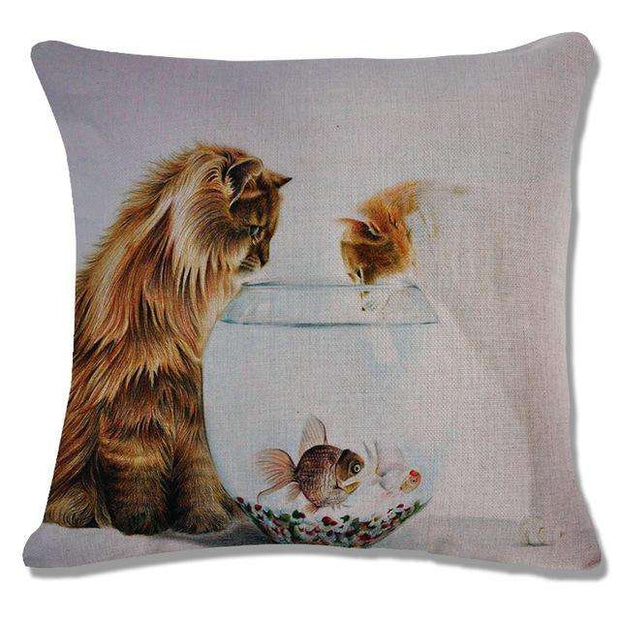 Charlie Buddy - Hand picked products for your dogs and cats-Cool Designs Throw Pillowcase-16
