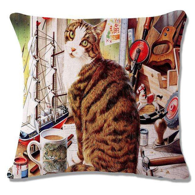 Charlie Buddy - Hand picked products for your dogs and cats-Cool Designs Throw Pillowcase-21