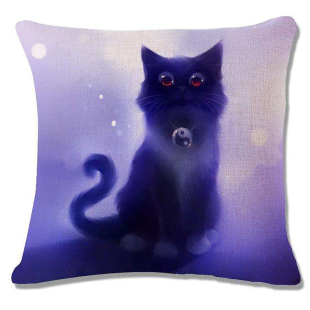 Charlie Buddy - Hand picked products for your dogs and cats-Cool Designs Throw Pillowcase-17