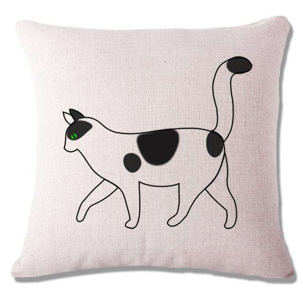 Charlie Buddy - Hand picked products for your dogs and cats-Cool Designs Throw Pillowcase-11