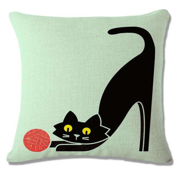 Charlie Buddy - Hand picked products for your dogs and cats-Cool Designs Throw Pillowcase-9