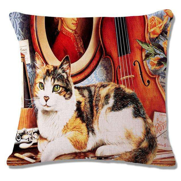 Charlie Buddy - Hand picked products for your dogs and cats-Cool Designs Throw Pillowcase-20