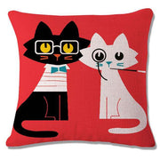 Charlie Buddy - Hand picked products for your dogs and cats-Cool Designs Throw Pillowcase-3