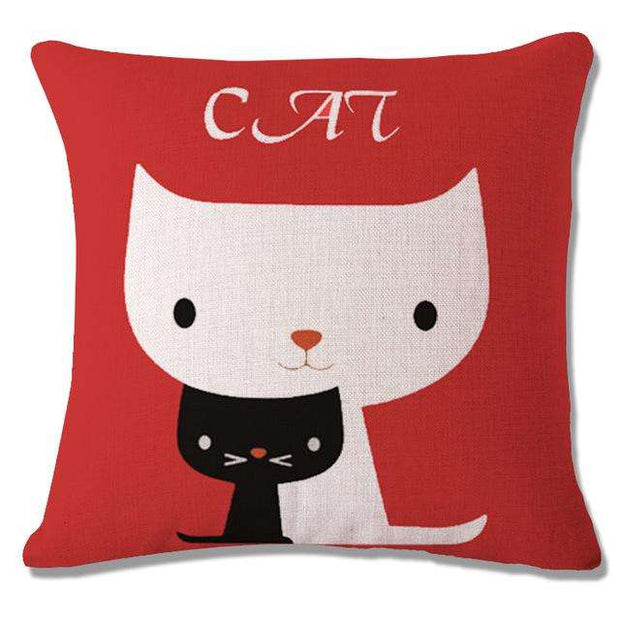 Charlie Buddy - Hand picked products for your dogs and cats-Cool Designs Throw Pillowcase-1