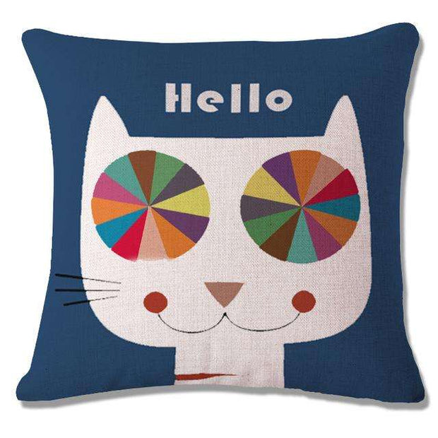 Charlie Buddy - Hand picked products for your dogs and cats-Cool Designs Throw Pillowcase-2