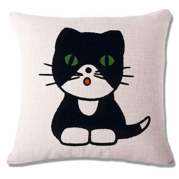 Charlie Buddy - Hand picked products for your dogs and cats-Cool Designs Throw Pillowcase-10