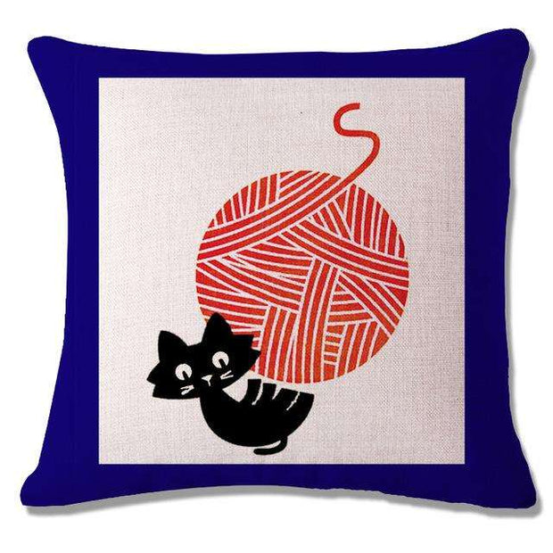 Charlie Buddy - Hand picked products for your dogs and cats-Cool Designs Throw Pillowcase-7