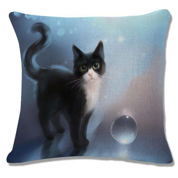 Charlie Buddy - Hand picked products for your dogs and cats-Cool Designs Throw Pillowcase-19