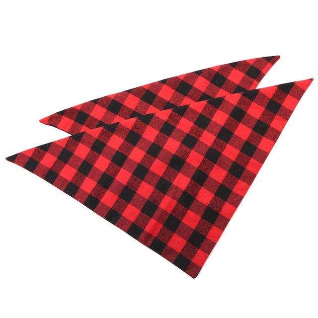 Charlie Buddy - Hand picked products for your dogs and cats-Cotton Trendy Lumberjack Dog Bandana-Default Title