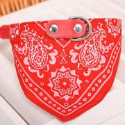Charlie Buddy - Hand picked products for your dogs and cats-Cowboy Scarf Collar-Red / S