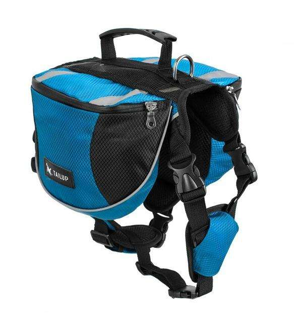 Charlie Buddy - Hand picked products for your dogs and cats-Dog Backpack Saddle-gorgeous blue / S
