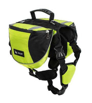 Charlie Buddy - Hand picked products for your dogs and cats-Dog Backpack Saddle-gorgeous green / S