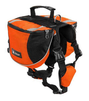 Charlie Buddy - Hand picked products for your dogs and cats-Dog Backpack Saddle-gorgeous orange / S