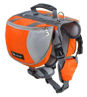 Charlie Buddy - Hand picked products for your dogs and cats-Dog Backpack Saddle-orange / S