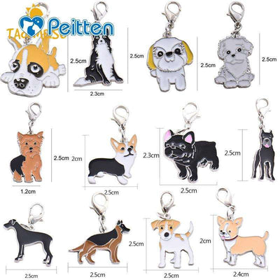 Charlie Buddy - Hand picked products for your dogs and cats-Dog Breed Collar Tag ID