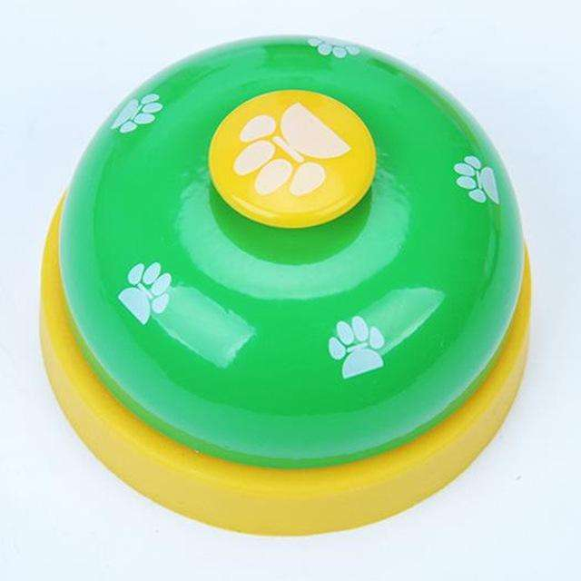 Charlie Buddy - Hand picked products for your dogs and cats-Dog Feeding Training Bell-Green