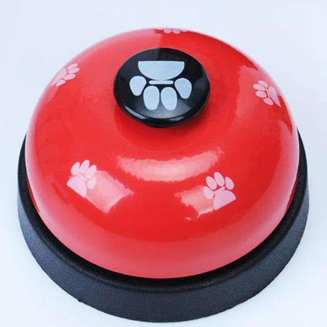 Charlie Buddy - Hand picked products for your dogs and cats-Dog Feeding Training Bell-Red
